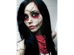 Макияж на хэллоуин в картинках