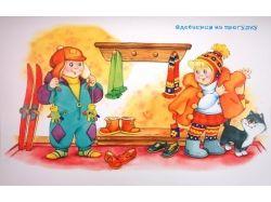 Картинки для детского сада зима