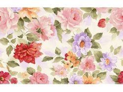 Цветы живопись картинки