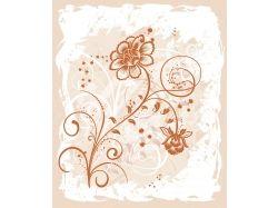 Узоры из цветов рисунки