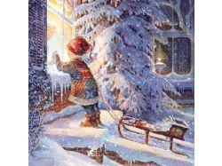 Картинки сказочная зима
