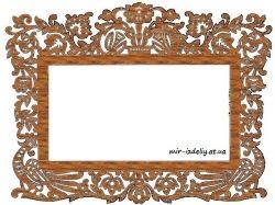 Рамка для фото из фанеры