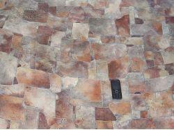 Линолеум с рисунком под камень