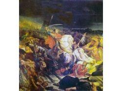 Картина битва на куликовом поле