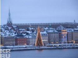 Стокгольм фото зимой