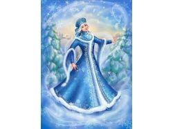Снегурочка фото картинки