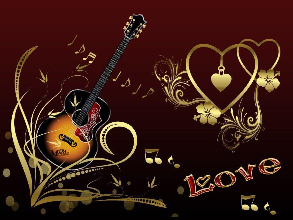 Любовь и музыка картинки