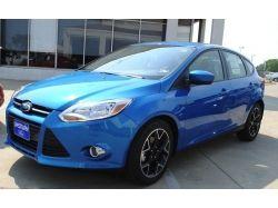 Форд фокус темно синий