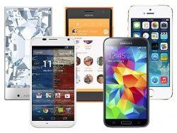Фото больших телефонов