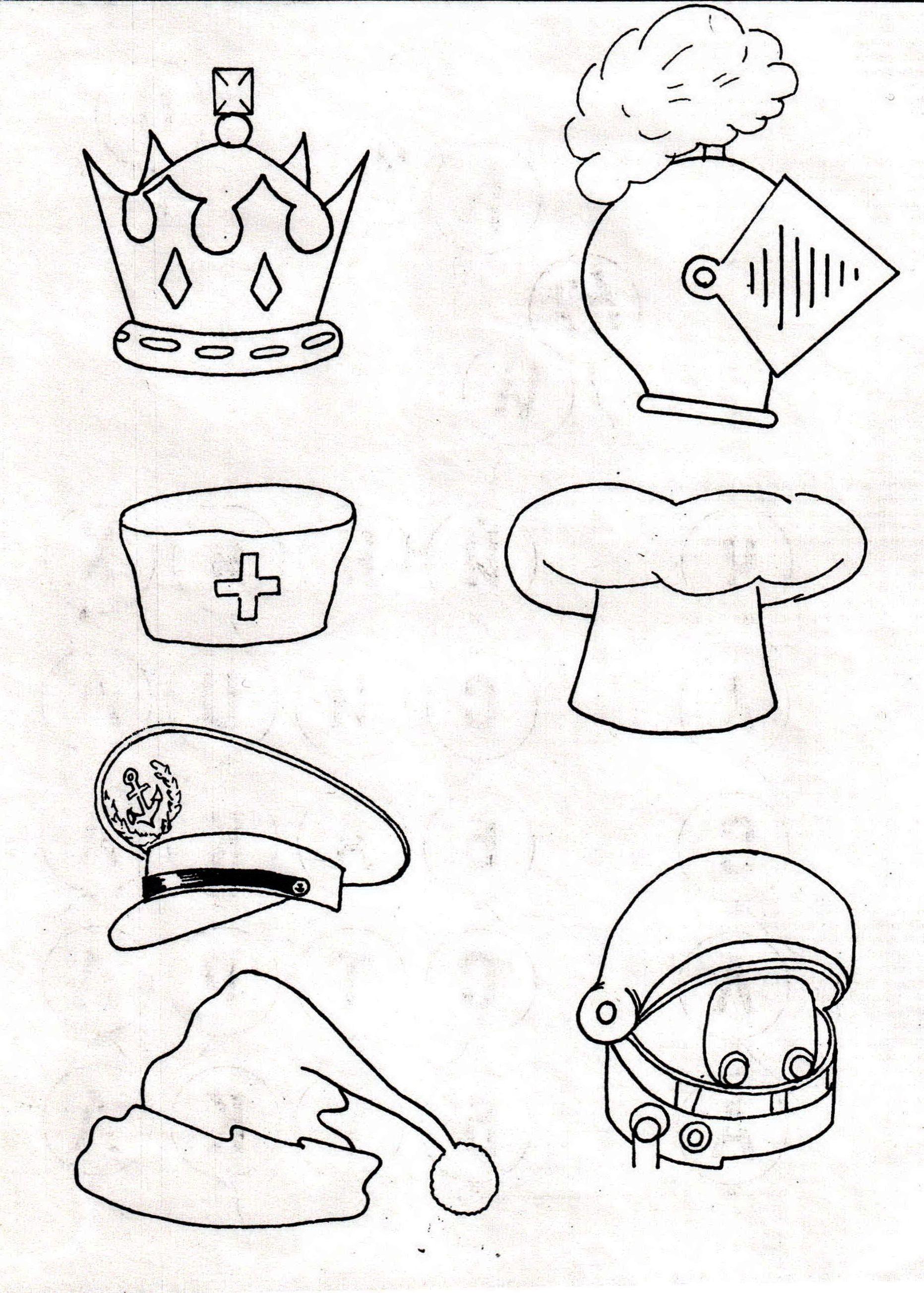 Картинка головной убор для детей в детском саду