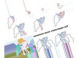 Картинки как рисовать пони 6