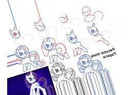 Картинки как рисовать пони 7