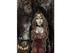 Картинки ведьмы