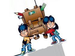 Картинки школа анимация 2