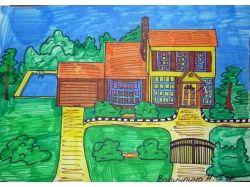 Рисунки дом моей мечты