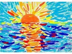 Рисунки моря