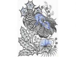 Картинка цветка георгин