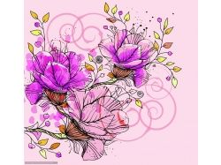 Картинки цветов абстракция
