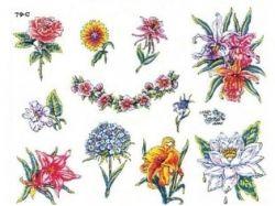Тату цветов картинки