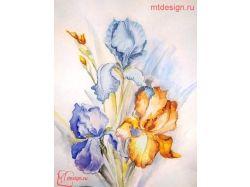 Картинки цветов для срисовки поэтапно