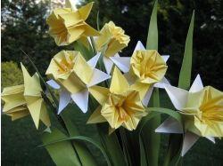 Картинки оригами из бумаги цветы
