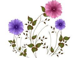 Картинки цветов на прозрачном фоне