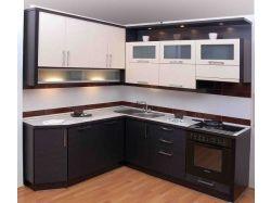 Кухня цвета венге фото