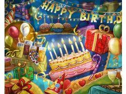 Картинки на рабочий стол день рождения