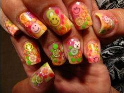 Прикольные ногти фото