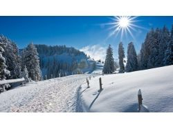 Природа зима на рабочий стол