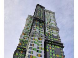 Многоэтажный дом раскраска