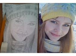 Срисовать картинки карандашом