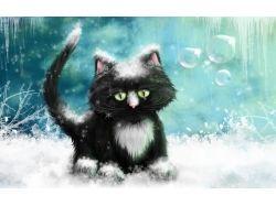 Кот картина