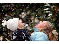 Картинки зима и дети