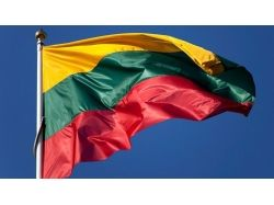 Флаг литвы фото