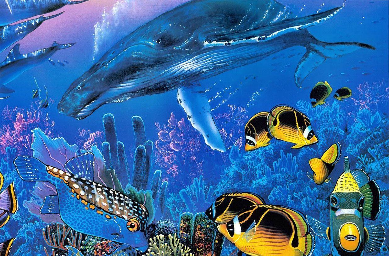 картинки на тему обитатели океана компания хотела, чтобы