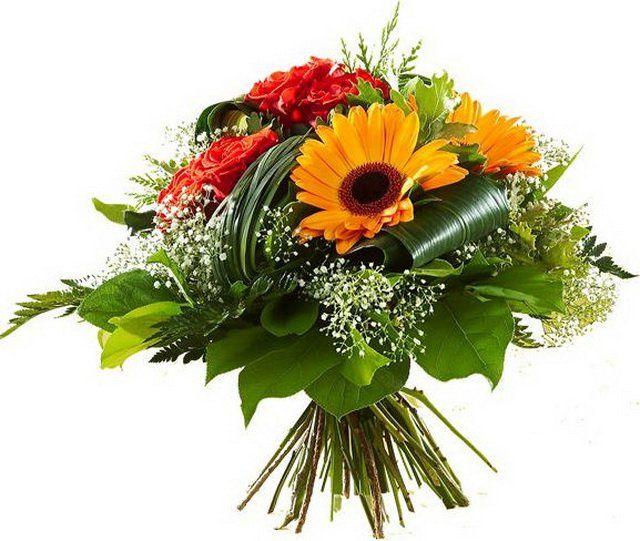Скачать бесплатно картинки букеты живых цветов 12