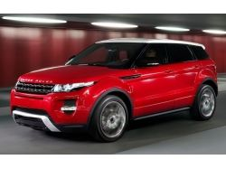 Range rover красный