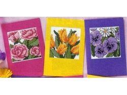 Старинные открытки с цветами