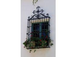 Кованые наличники на окна