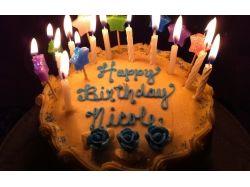 Торт на день рождения картинки