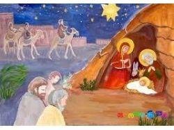 Рисунки на тему рождество
