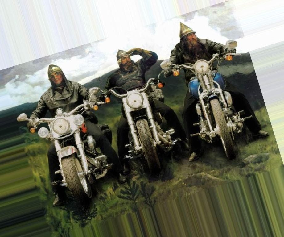 куличи три богатыря на мотоциклах картинка мне личку