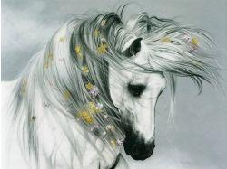 Рисунки животных гуашью