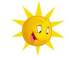 Картинки детские солнышко