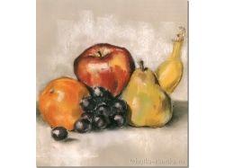 Натюрморт с фруктами для детей 5