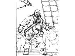 Рисунки пиратов для детей
