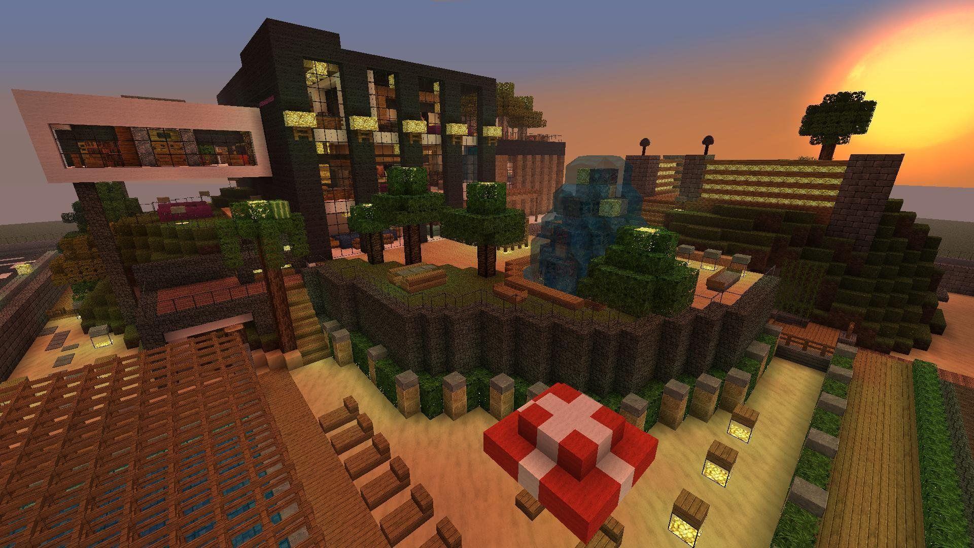 Красивый дом в майнкрафт !!! - Скачать карту - Minecraft ...