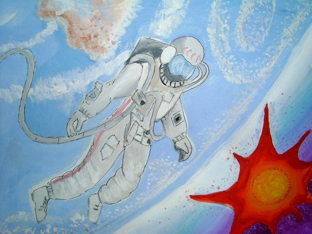 Рождением, самые креативные рисунки на тему космос