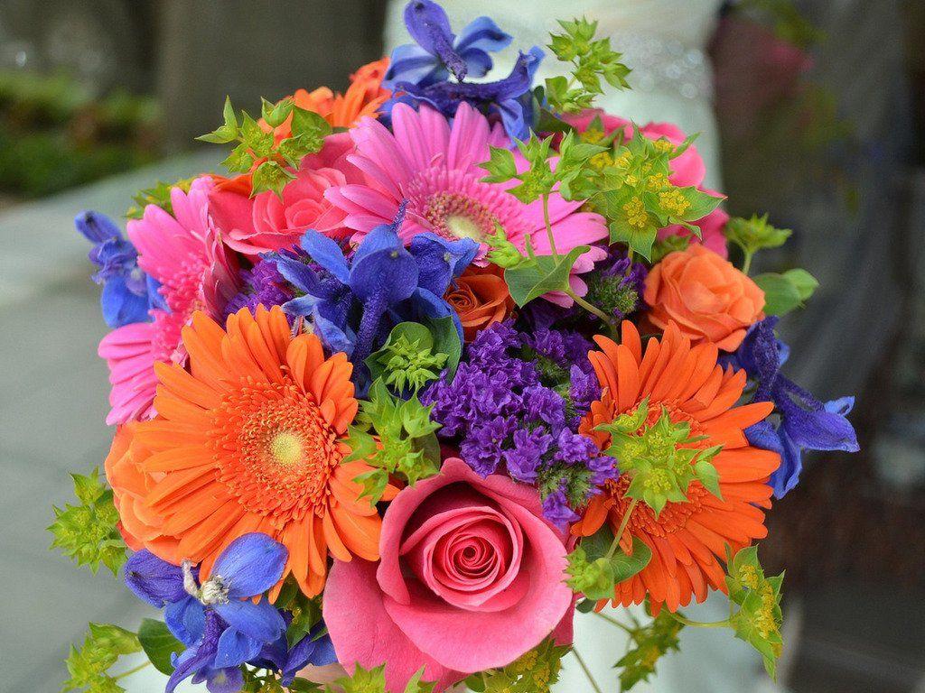 Букеты из разных цветов фото красивые